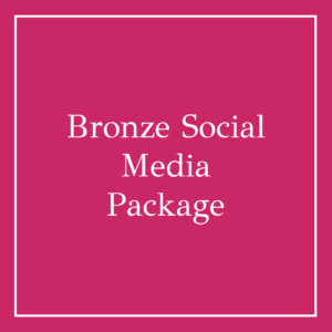 Bronze Social Media Package