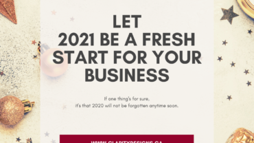 Let 2020 Be A Fresh Start For Your Business